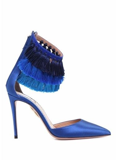 Aquazzura Abiye Ayakkabı Mavi